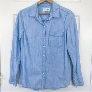 Old navy classic button down shirt Size small